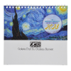View Extra Image 1 of 4 of Impressionists Desk Calendar  - French/English