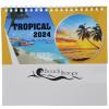 View Extra Image 1 of 4 of Tropical Desk Calendar