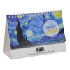 View Extra Image 2 of 4 of Impressionists Desk Calendar  - French/English