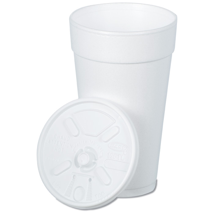 4imprint Ca Foam Hot Cold Cup With Tear Tab Lid 20 Oz