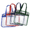 View Extra Image 1 of 1 of Clear Zip Top Box Tote