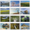 View Extra Image 1 of 2 of Canada Scenic Vistas Calendar with Pocket