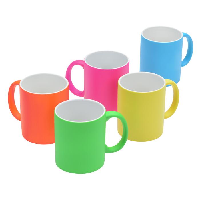 4imprint Ca Neon Ceramic Mug 11 Oz C123475
