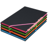 View Extra Image 3 of 3 of Neon Angled Elastic Notebook -  8-3/8 inches x 5-5/8 inches