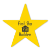 """View Extra Image 1 of 1 of Sticker by the Roll - Star - 9/16"""" x 5/8"""""""