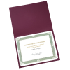 View Extra Image 1 of 1 of Classic Paper Certificate Holder
