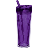 View Extra Image 2 of 4 of Flip and Sip Geometric Tumbler - 18 oz. - Closeout Colours