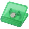 View Image 2 of 3 of Mega Magnet Clip - Square - Translucent