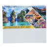 View Extra Image 1 of 5 of Beautiful Places Executive Desk Calendar - French