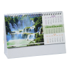View Extra Image 3 of 5 of Beautiful Places Executive Desk Calendar - French