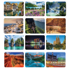 View Extra Image 4 of 5 of Beautiful Places Executive Desk Calendar - French