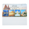 View Extra Image 5 of 5 of Beautiful Places Executive Desk Calendar - French