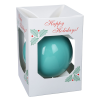 View Extra Image 1 of 1 of Round Shatterproof Ornament - Snowflake - Happy Holidays