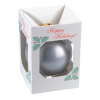 View Extra Image 1 of 1 of Round Shatterproof Ornament - Happy Holidays