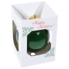 View Extra Image 1 of 1 of Round Shatterproof Ornament - Merry Christmas