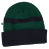 View Extra Image 1 of 1 of Two-Tone Cuffed Toque - 24 hr