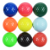 View Extra Image 2 of 2 of Colourful Golf Ball - Dozen - Sleeved