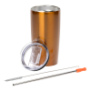 View Extra Image 1 of 3 of Yowie Vacuum Tumbler with Stainless Straw Set - 18 oz.