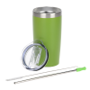View Extra Image 1 of 3 of Yowie Vacuum Tumbler with Stainless Straw Set - 18 oz. - Powder Coat