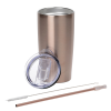View Extra Image 1 of 3 of Yowie Vacuum Tumbler with Park Avenue Straw - 18 oz.