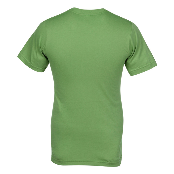 American Apparel Fine Jersey T-Shirt - Men's - Colours Image 1 of 1.  Loading zoom