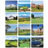 View Extra Image 4 of 4 of Golf Courses Desk Calendar