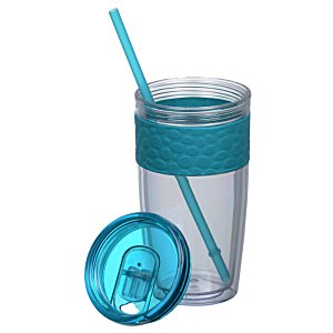 Pebble Tumbler with Straw - 16 oz. Image 1 of 2