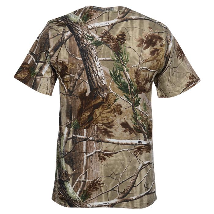 Code V Realtree Camouflage T Shirt