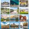View Extra Image 4 of 4 of Scenes of Canada Desk Calendar - French/English