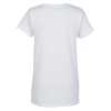 View Extra Image 1 of 2 of M&O Gold Soft Touch T-Shirt - Ladies' - White