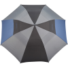 View Extra Image 2 of 5 of Slazenger Tri-Colour Folding Golf Umbrella - 55 inches Arc - Closeout
