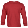 View Image 4 of 5 of Rabbit Skins Jersey Long Sleeve T-Shirt - Toddler - Colours