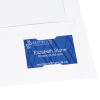 View Extra Image 1 of 2 of Legal Size Two-Pocket Presentation Folder - Linen