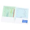 View Extra Image 2 of 2 of Designer Paper Two-Pocket Presentation Folder - Stripes