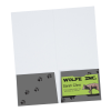 """View Extra Image 2 of 2 of Full Colour Paper Two-Pocket Mini Folder - 9"""" x 4"""""""
