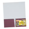 """View Extra Image 2 of 2 of Paper Two-Pocket Mini Folder - 9"""" x 4"""""""