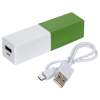 View Extra Image 5 of 5 of Two Tone Accent Power Bank - 1500 mAh