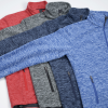 View Extra Image 1 of 3 of Crossland Heather Fleece Jacket - Men's - 24 hr