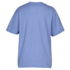 View Image 2 of 3 of Monroe V-Neck Blend Pocket Tee - Youth