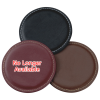 View Extra Image 2 of 2 of Vintage Round Bonded Leather Coaster