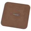View Extra Image 1 of 3 of Vintage Square Bonded Leather Coaster Set