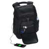 View Extra Image 1 of 6 of Travis & Wells Velocity Backpack with USB Port - Embroidered