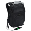 View Extra Image 5 of 6 of Travis & Wells Velocity Backpack with USB Port - Embroidered