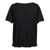 View Image 3 of 3 of Threadfast Tri-Blend Fleck V-Neck T-Shirt - Ladies' - Screen