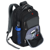 """View Extra Image 3 of 5 of Wenger Pro-Check 17"""" Laptop Backpack - Debossed"""