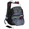 "View Extra Image 2 of 5 of Wenger Outlook 17"" Laptop Backpack - Embroidered"
