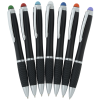 View Extra Image 2 of 5 of Evantide Light-Up Logo Stylus Twist Pen - Black