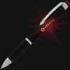 View Extra Image 5 of 5 of Evantide Light-Up Logo Stylus Twist Pen - Black