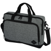 """View Extra Image 1 of 3 of Graphite 15"""" Computer Briefcase Bag - Embroidered"""