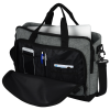 """View Extra Image 2 of 3 of Graphite 15"""" Computer Briefcase Bag - Embroidered"""